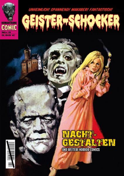 Geister-Schocker-Comic 05: Nacht-Gestalten