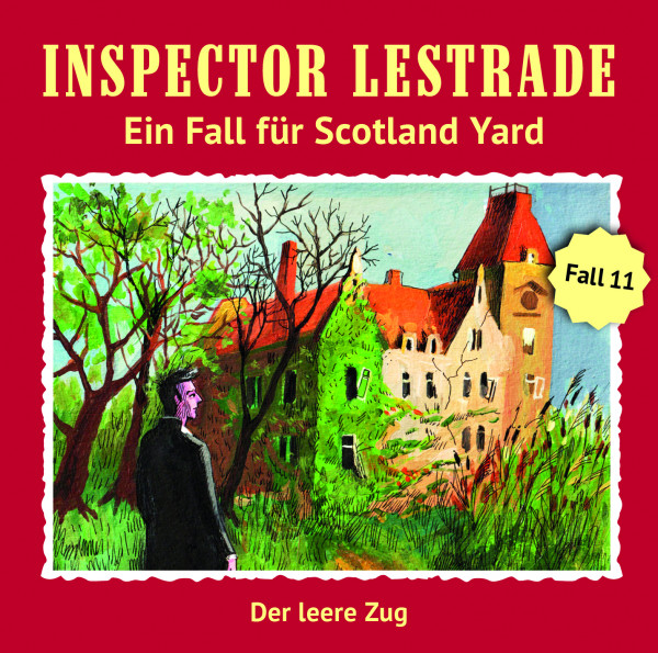 Inspector Lestrade CD 11: Der leere Zug