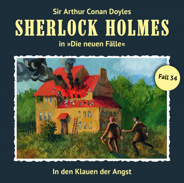 Sherlock Holmes-Neue Fälle CD 34: In den Klauen der Angst