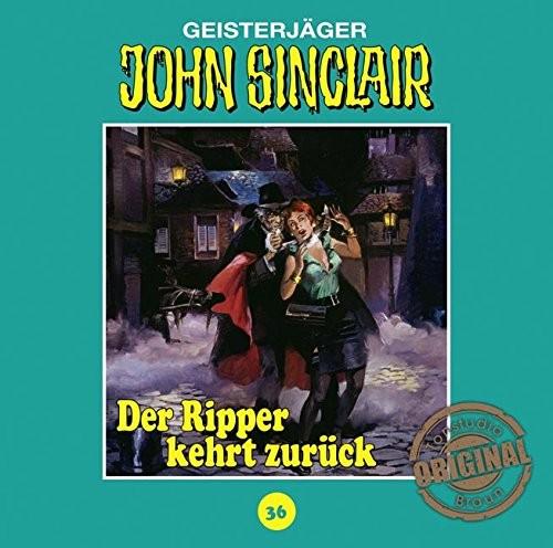 John Sinclair Tonstudio-Braun CD 36: Der Ripper kehrt zurück