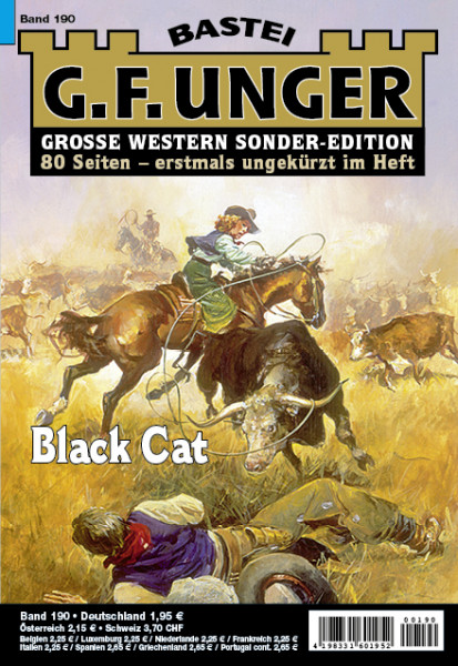 G. F. Unger-Sonder-Edition 190: Black Cat