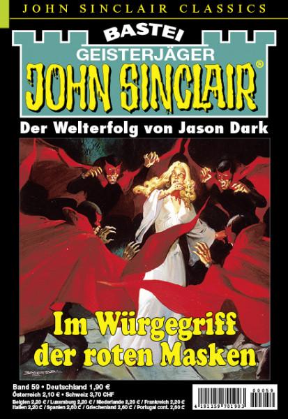 John Sinclair Classics 59: Im Würgegriff der roten Masken