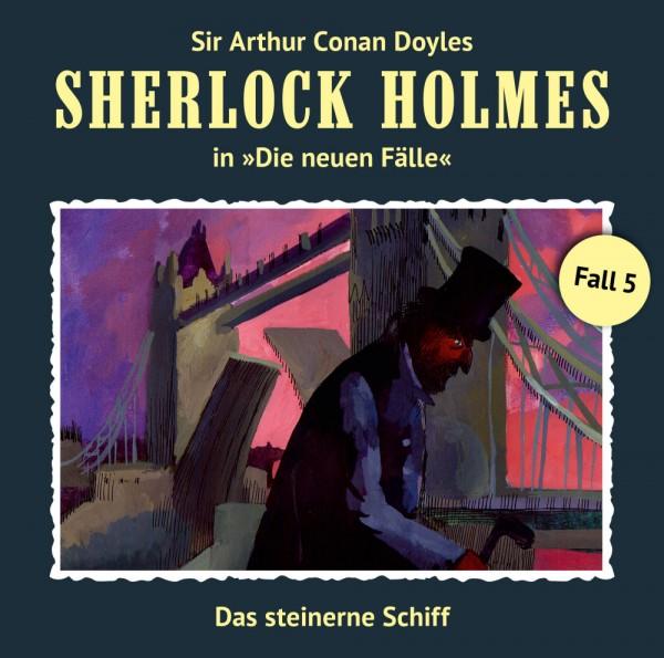 Sherlock Holmes-Neue Fälle CD 05: Das steinerne Schiff