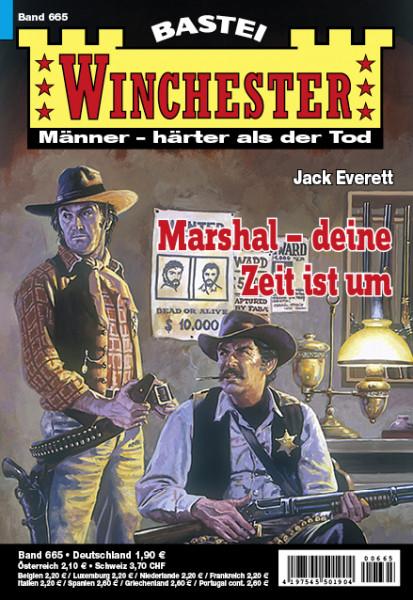 Winchester 665: Marshal, deine Zeit ist um