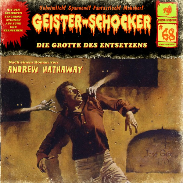 MP3-DOWNLOAD Geister-Schocker 68: Die Grotte des Entsetzens
