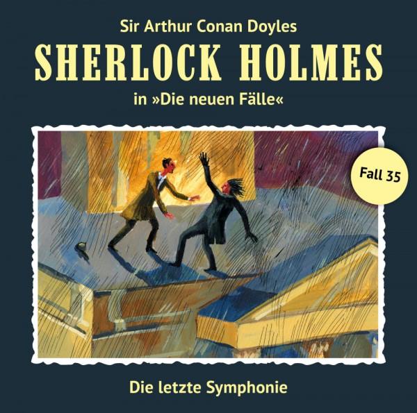 MP3-DOWNLOAD Sherlock Holmes-Neue Fälle 35: Die letzte Symphonie