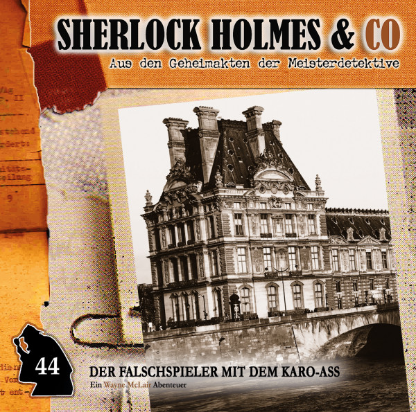 Sherlock Holmes und Co. CD 44: Der Falschspieler mit dem Karo-Ass