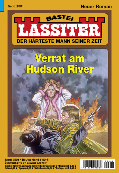 Lassiter 1. Auflage 2501: Verrat am Hudson River