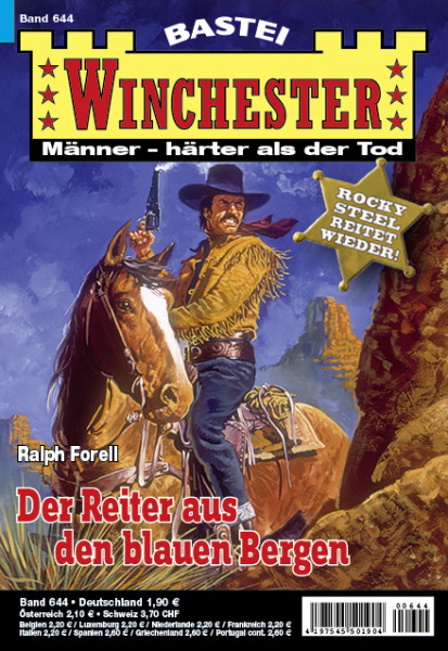 Winchester 644: Der Reiter aus den blauen Bergen