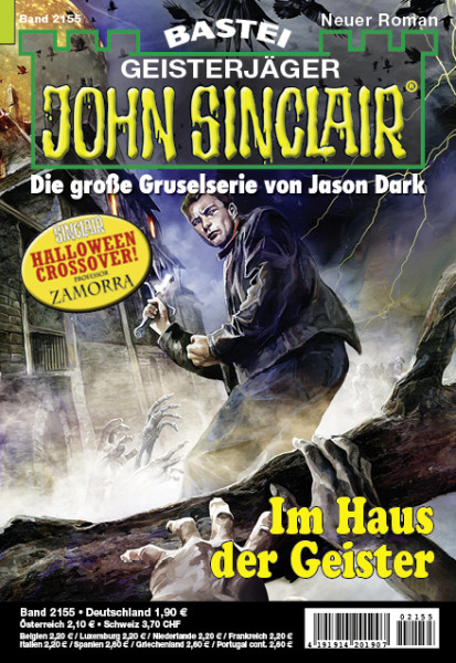 John Sinclair 2155: Im Haus der Geister (Halloween Crossover! Professor Zamorra)