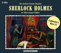 Sherlock Holmes-Neue Fälle Collectors Box 11: mit den Folgen 31-33