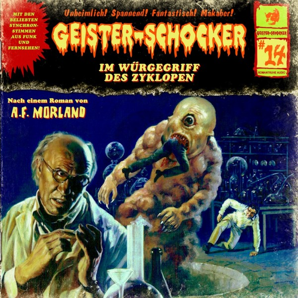 Geister-Schocker CD 14: Im Würgegriff des Zyklopen