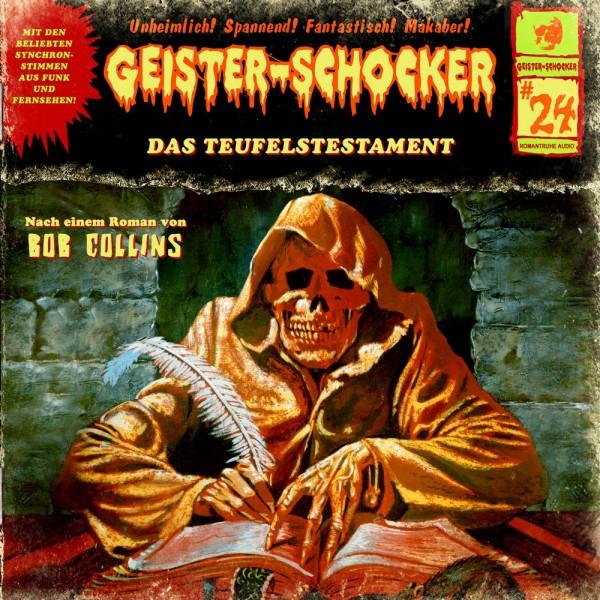 Geister-Schocker CD 24: Das Teufelstestament