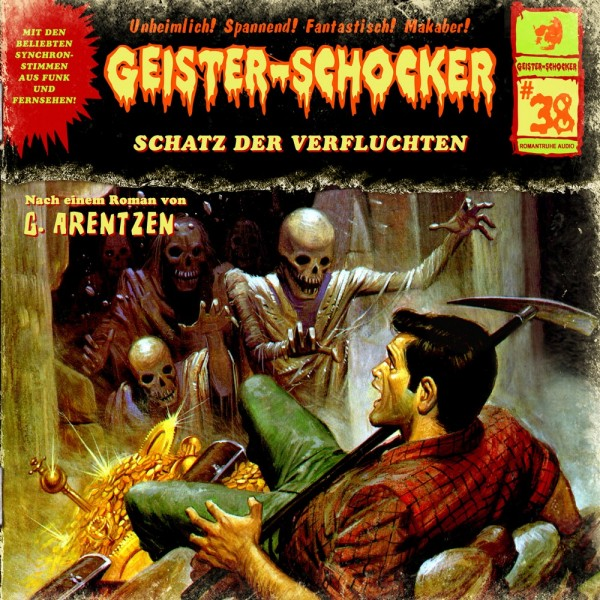 MP3-DOWNLOAD Geister-Schocker 38: Schatz der Verfluchten
