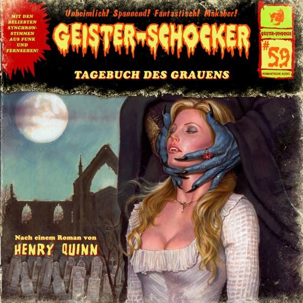 Geister-Schocker CD 59: Tagebuch des Grauens