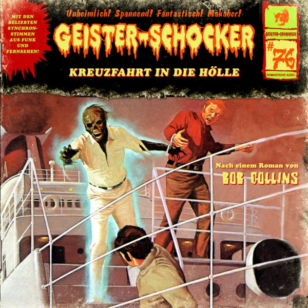 Geister-Schocker CD 76: Kreuzfahrt in die Hölle