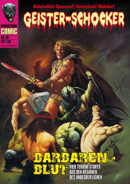 Geister-Schocker-Comic 29: Barbaren-Blut