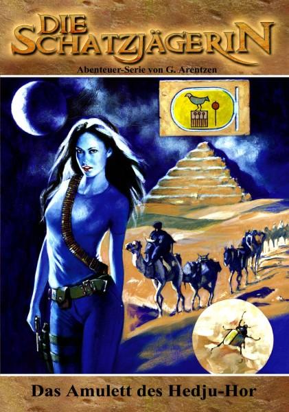 E-Book Die Schatzjägerin 21: Das Amulett des Hedju-Hor
