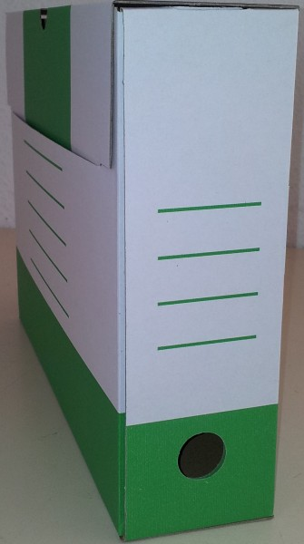 Sammelboxen-Klassik 10 Stück in grün 8cm