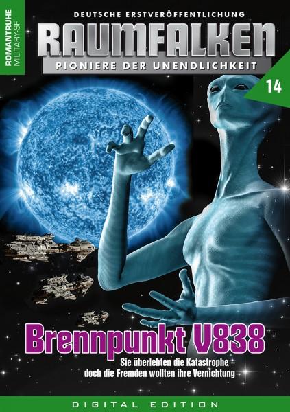E-Book Raumfalken 14: Brennpunkt V838