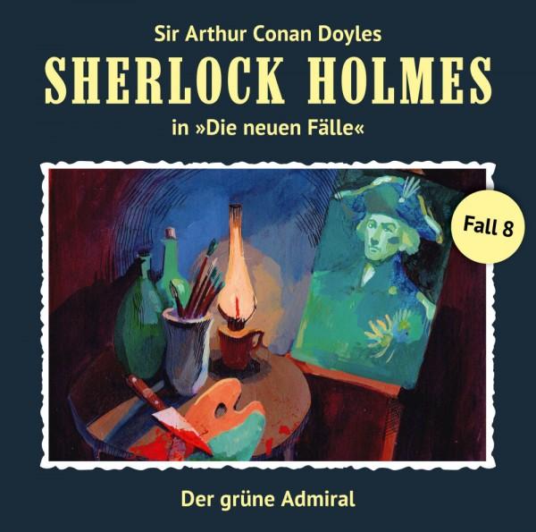 MP3-DOWNLOAD Sherlock Holmes-Neue Fälle 08: Der grüne Admiral