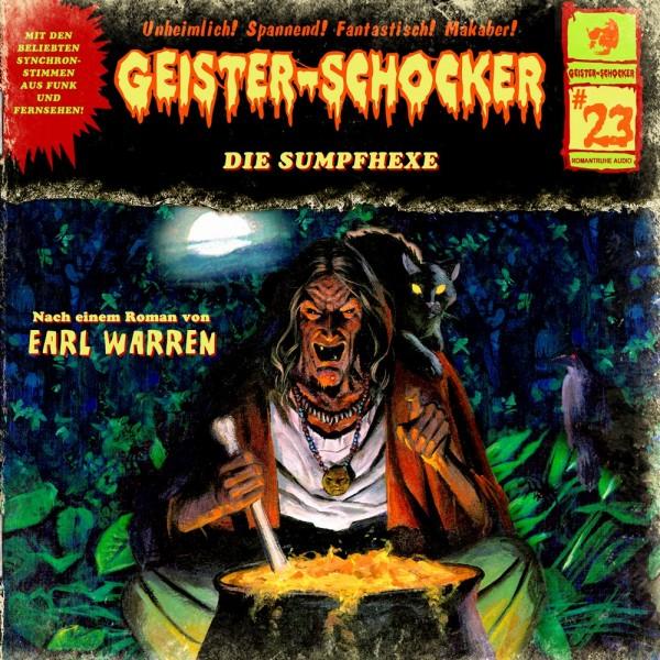Geister-Schocker CD 23: Die Sumpfhexe