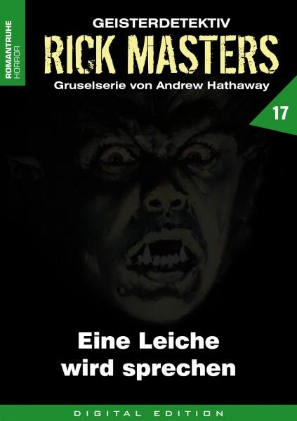 E-Book Rick Masters 17: Eine Leiche wird sprechen