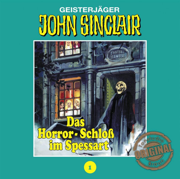 LP-Paket 1: John Sinclair Tonstudio-Braun LP 1: Das Horror-Schloß im Spessart, Geister-Schocker LP Soundtrack 1 und Geister-Schocker LP Soundtrack 2