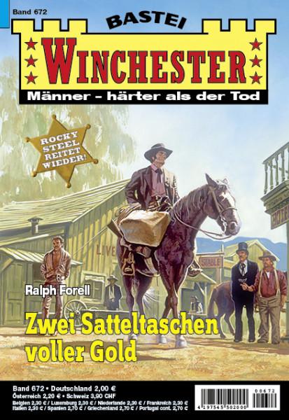 Winchester 672: Zwei Satteltaschen voller Geld