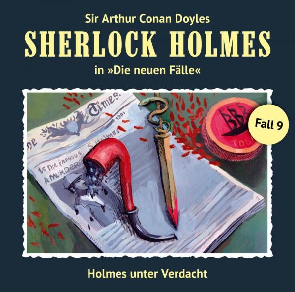 MP3-DOWNLOAD Sherlock Holmes-Neue Fälle 09: Holmes unter Verdacht