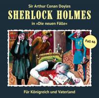 MP3-DOWNLOAD Sherlock Holmes-Neue Fälle 46: Für Königreich und Vaterland