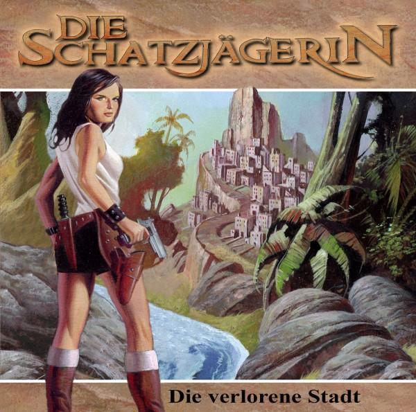 MP3-DOWNLOAD Die Schatzjägerin-Hörspiel 4: Die verlorene Stadt