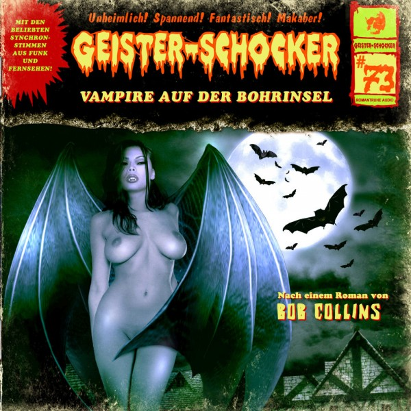MP3-DOWNLOAD Geister-Schocker 73: Vampire auf der Bohrinsel