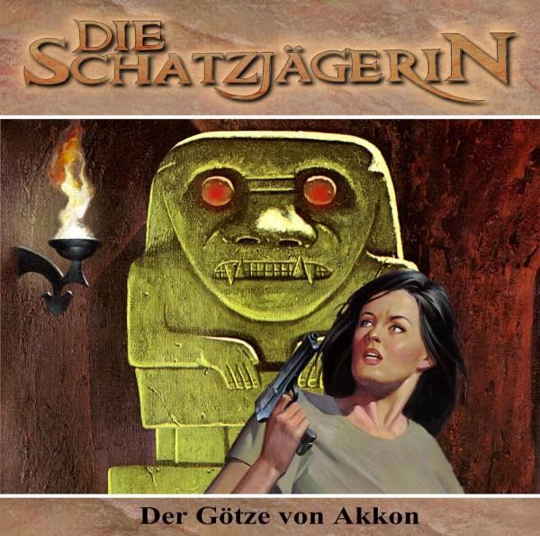 MP3-DOWNLOAD Die Schatzjägerin-Hörspiel 3: Der Götze von Akkon