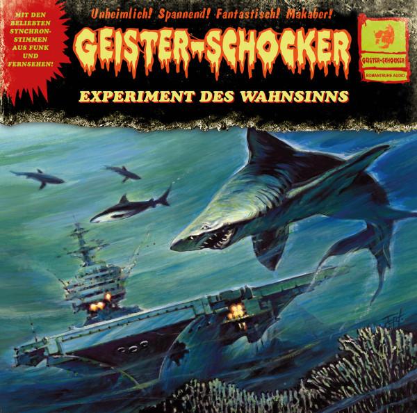 Geister-Schocker LP: Experiment des Wahnsinns
