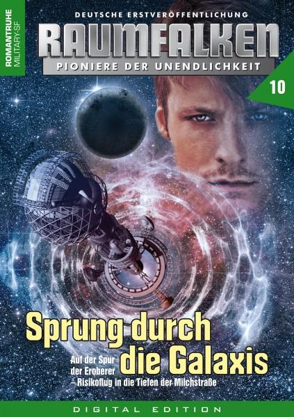 E-Book Raumfalken 10: Sprung durch die Galaxis