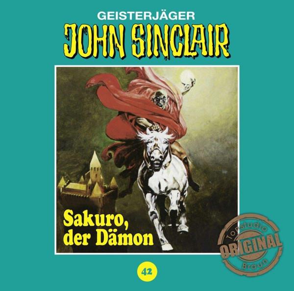 John Sinclair Tonstudio-Braun CD 42: Sakuro, der Dämon