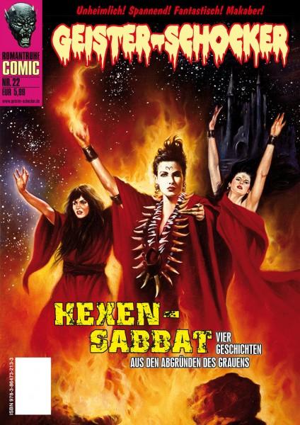 Geister-Schocker-Comic 22: Hexen-Sabbat