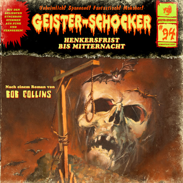 Geister-Schocker CD 94: Henkersfrist bis Mitternacht