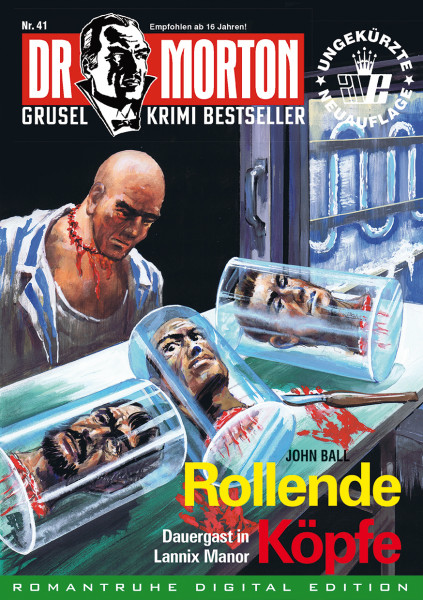 Ebook Dr. Morton 41:Rollende Köpfe