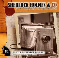 Sherlock Holmes und Co. CD 54: Tod vor laufender Kamera
