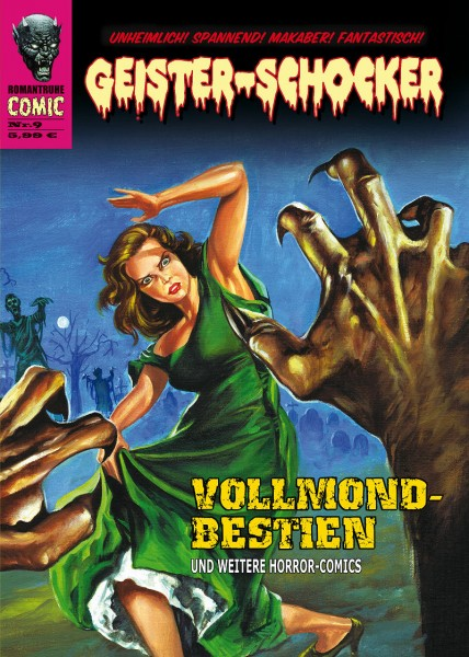 Geister-Schocker-Comic 09: Vollmond-Bestien