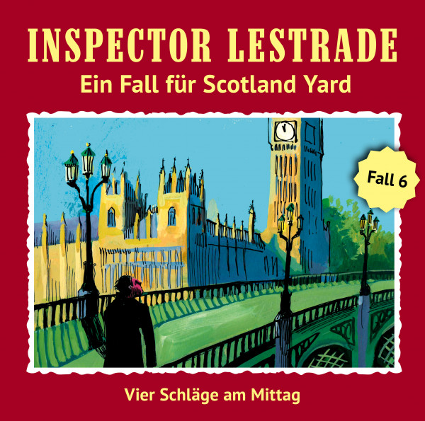 MP3-DOWNLOAD Inspector Lestrade 6: Vier Schläge am Mittag