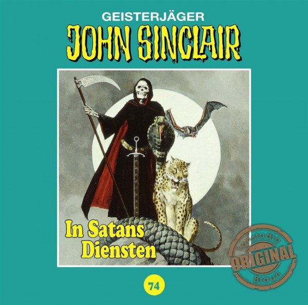 John Sinclair Tonstudio-Braun CD 74: In Satans Diensten