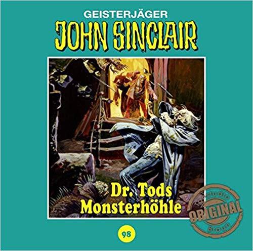 John Sinclair Tonstudio-Braun CD 98: Dr. Tods Monsterhöhle