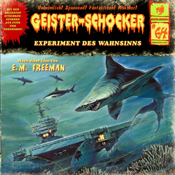 MP3-DOWNLOAD Geister-Schocker 64: Experiment des Wahnsinns