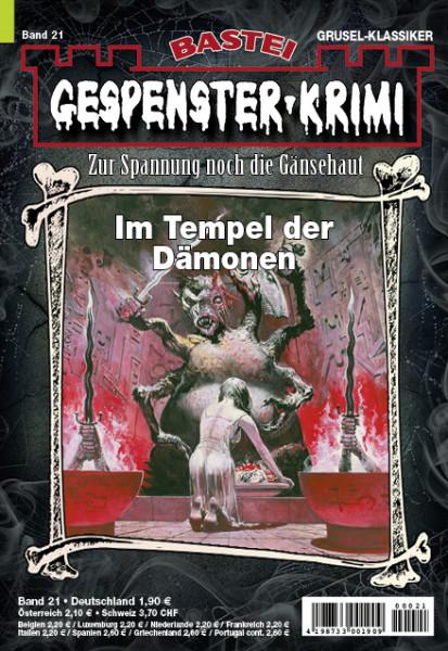 Gespenster-Krimi 21: Im Tempel der Dämonen