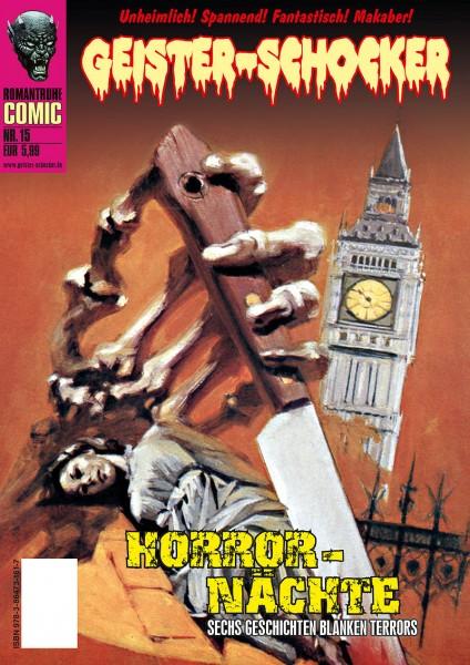 Geister-Schocker-Comic 15: Horror-Nächte