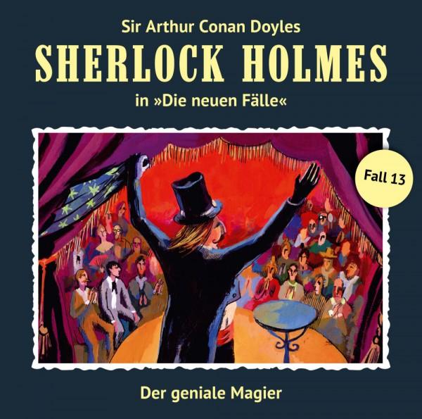 Sherlock Holmes-Neue Fälle CD 13: Der geniale Magier