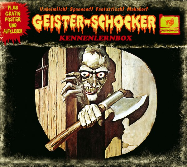 Geister-Schocker CD-Kennenlern-Box